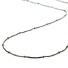 "24"" Hypo-Allergenic Ball Beaded Stainless Steel Chain with Lobster Claw Claps"