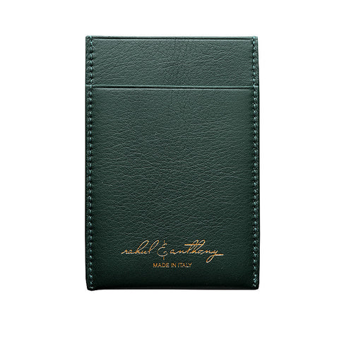 'Di Lusso' Card Holder - Forest