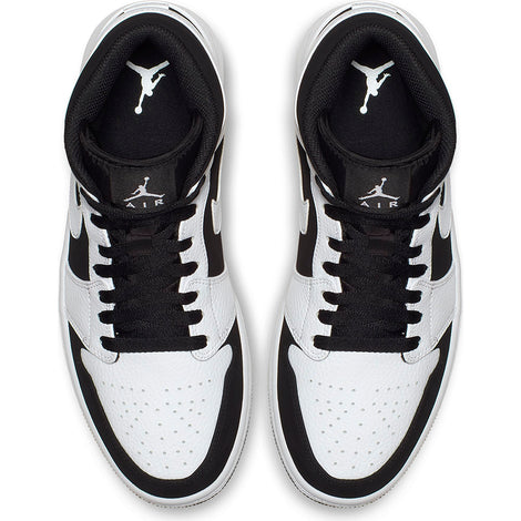Air Jordan 1 Mid 'White/Black-White'
