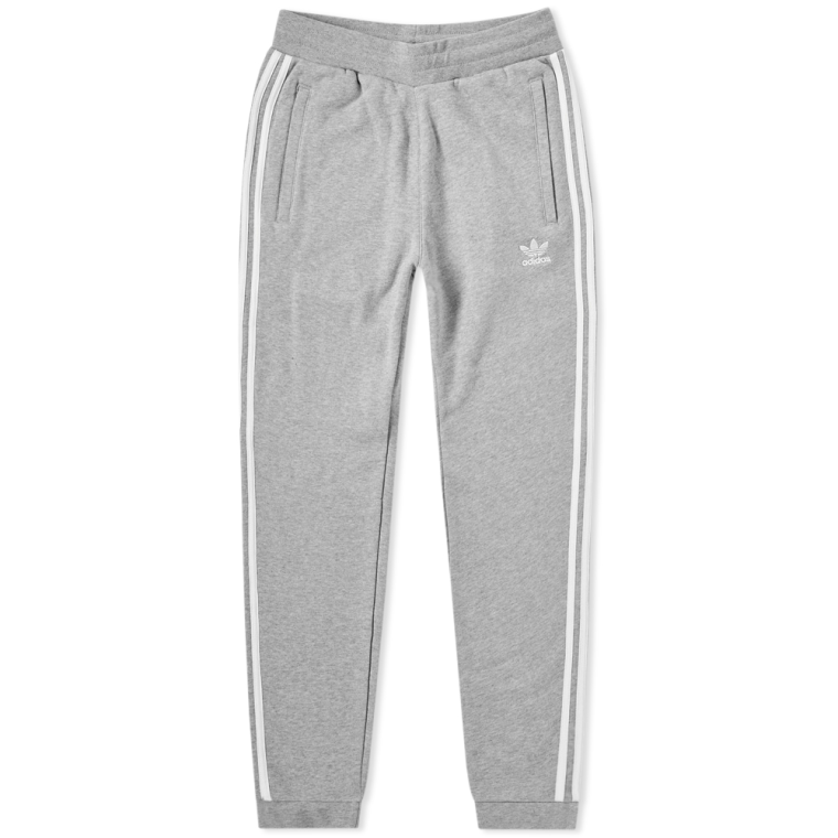 Adidas 3 Stripes Joggers Grey