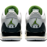 Air Jordan 3 Retro- Smoke Grey/Chlorophyll