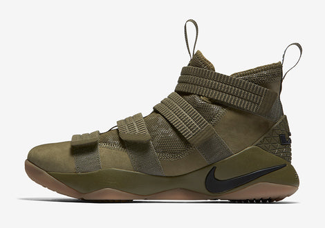 Nike Lebron Soldier XI SFG Medium Olive/Black