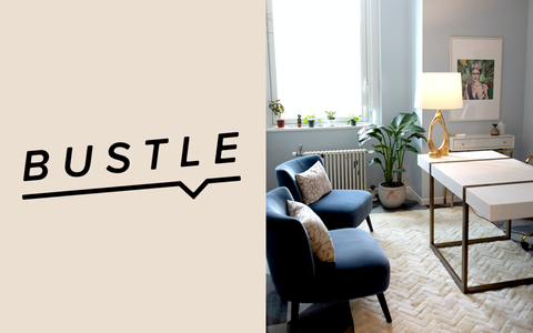 Intiearth Bustle | Here's How Designer Diana Sfera Redecorated An 8 x 10-Foot Office In New York City