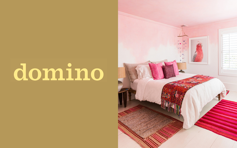 Intiearth Domino Magazine | How Did These Colorful Blankets End Up in Every Boho Home?