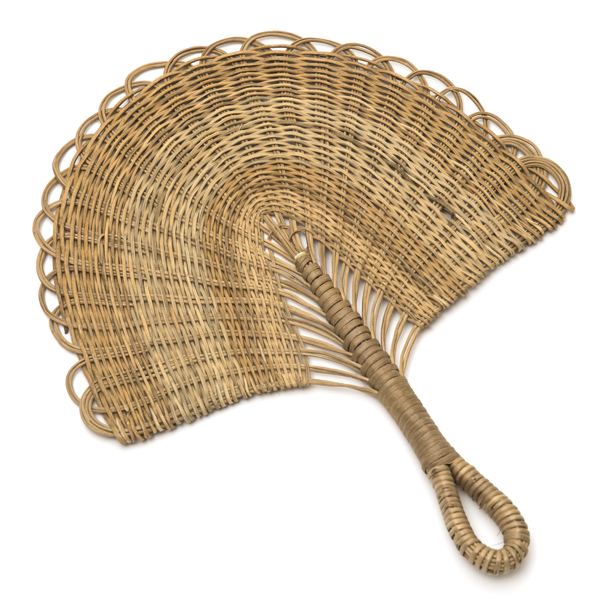 Intiearth Amazon Jungle Straw hand fan