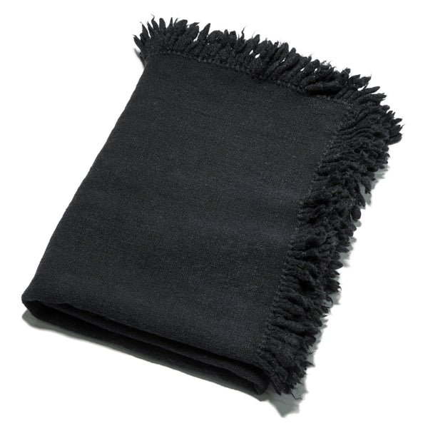 Namora Wool Throw Black