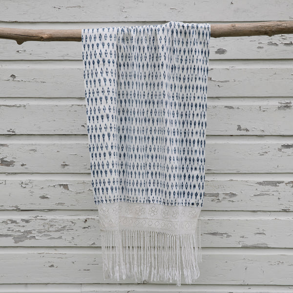 Intiearth Peruvian Ikat throw traditional Peruvian Pañone