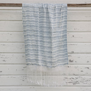 Intiearth Indigo Ikat throw