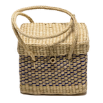 Intiearth mini straw lunch basket