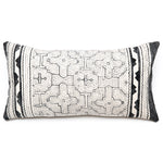Intiearth Shipibo bolster Pillow hand painted cotton