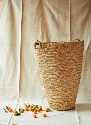 Intiearth Giant woven totora basket