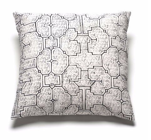 Intiearth Cotton Shipibo Print Pillow