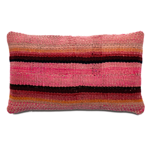 Intiearth colorful Woven Frazada Pillow small lumbar