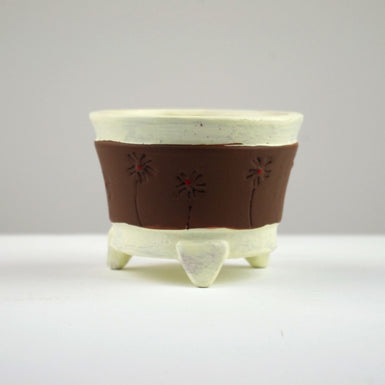 Pattern Clay Pot 2