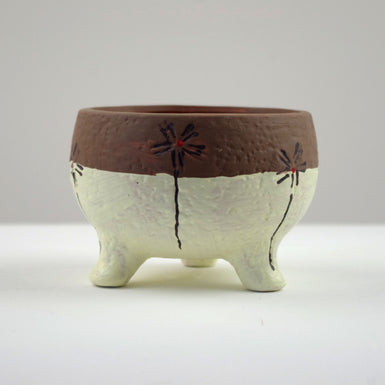 Pattern Clay Pot 4