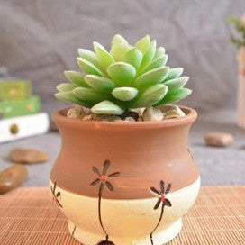 Pattern Clay Pot 5
