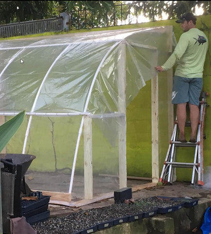 Greenhouse Build Up