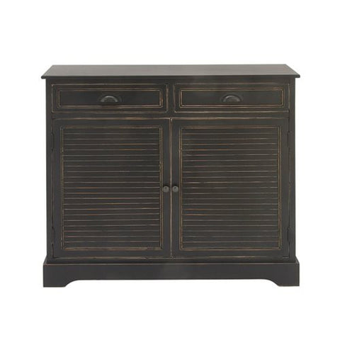 Gentil Black Washboard Sideboard