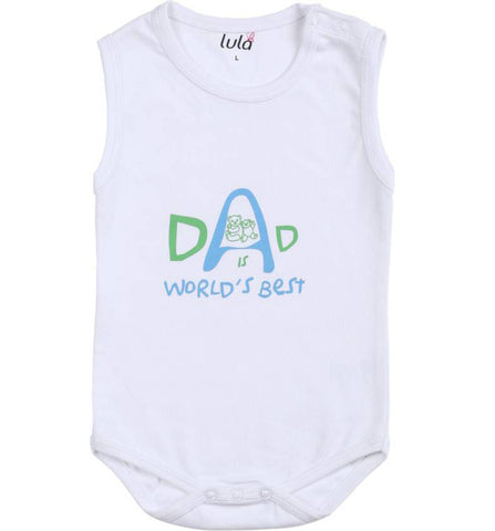 Lula Baby Girls White Bodysuit