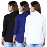 Zalula Young Girl's Lycra  Shrug Pack of 3
