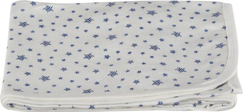 Colorfly Printed Single Blanket Blue