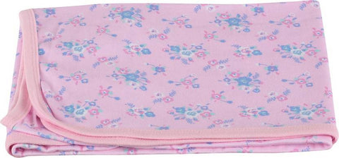 Colorfly Printed Single Blanket Pink