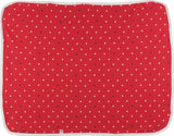 Colorfly Printed Single Blanket Red