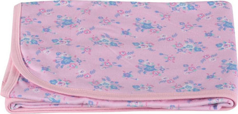 Colorfly Printed Double Blanket Pink