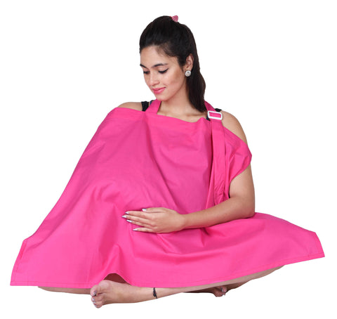 Lula Mom Pink Nursing Cover