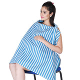 Lula Mom Dark blue Striped Nursing cover