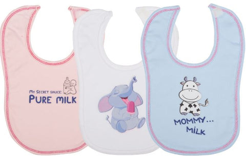 Lula Velcro Feeding Bib  - Food Theme