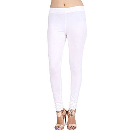 Zalula Premium Stretch Leggings - White