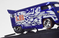 LB Customz & Kazy Kustom 2011 Blue VW Drag Bus