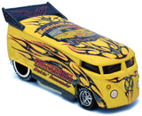 Liberty Promotions 2011 KruzinWagon Set - Yellow & Black VW Drag Bus
