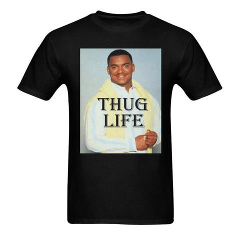 e-joyer t-shirt S / black Loyally Elegant Thug Life Men's T-shirt