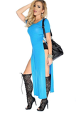 Side Slit Elegant Dress