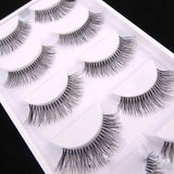 5 Pairs Natural Fake Eye Lashes