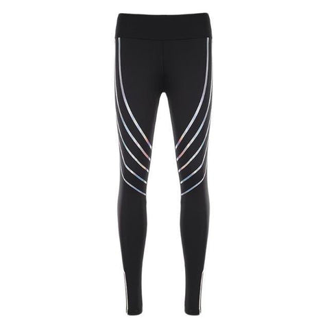 Loyally Elegant fitness leggings Black / S Ilumni Reflective Fitness Leggings