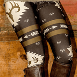 Loyally Elegant leggings Deer Stretch Leggings