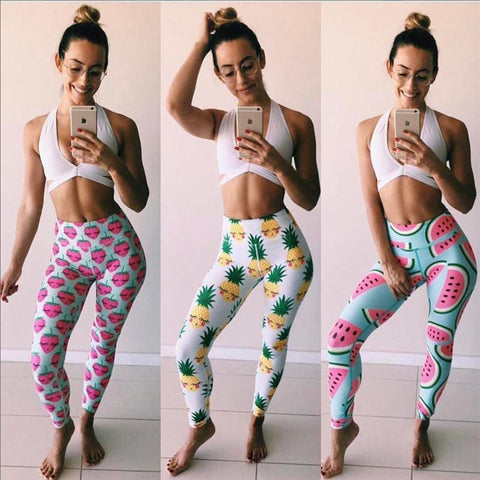 Juicy Fruit High Waist Leggings