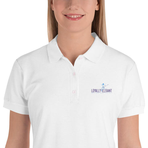 Loyally Elegant S Women's Loyally Elegant Polo Shirt