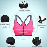 Racerback Padded Workout Sports Bra