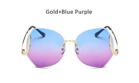 Diamond Cut Lens Sunglasses