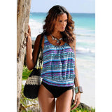 Loyally Elegant swimsuit wc18172 / S Tanning Girl Tankini Sets