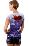 Elegant sublimation top