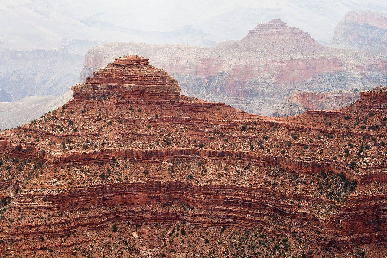 Ancient Rock Formations, Grand Canyon, Arizona
