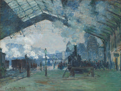 Arrival of the Normandy Train, Gare Saint Lazare