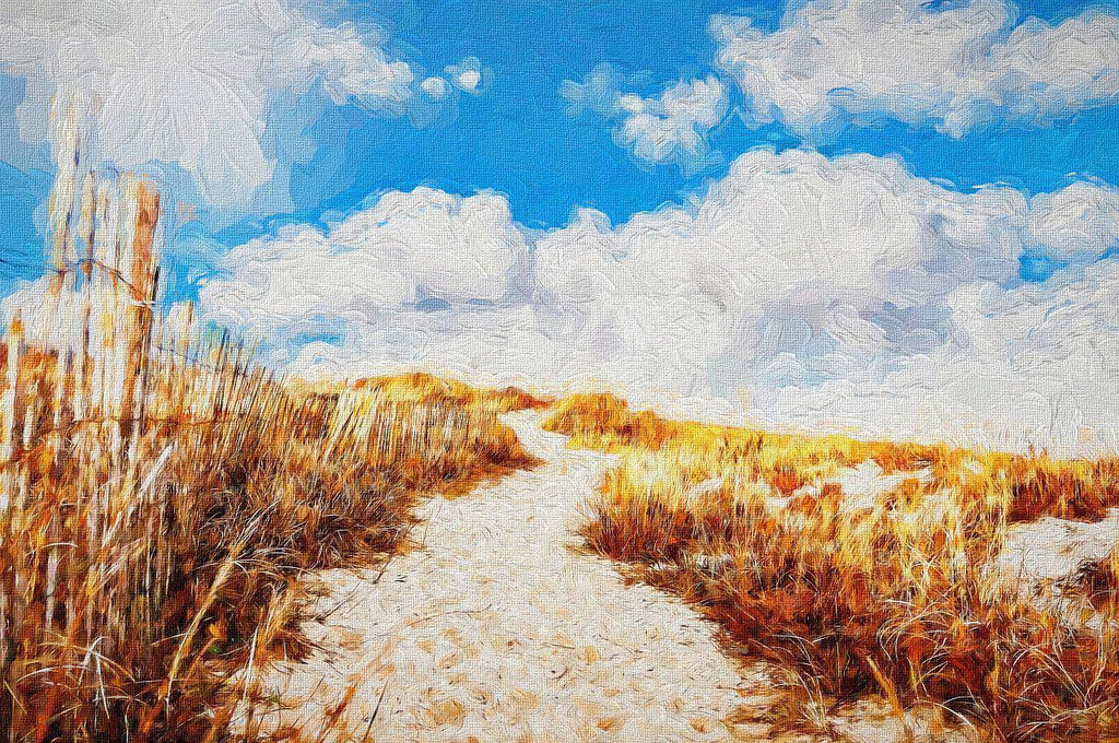 Beach Path - Art - Art 4 Charities, LLC
