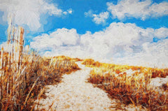 Beach Path - Art