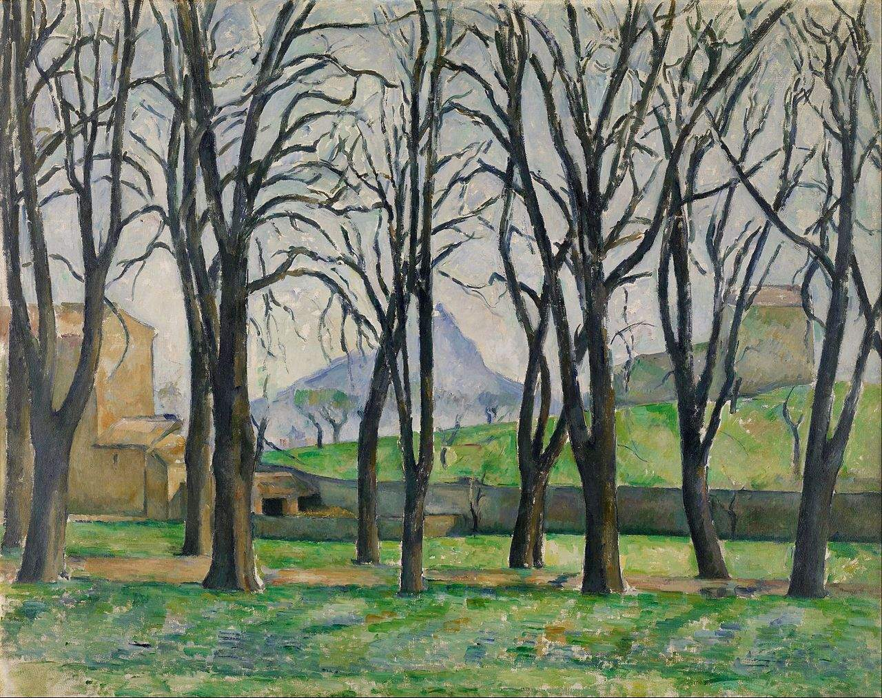 Chestnut Trees at Jas de Bouffan